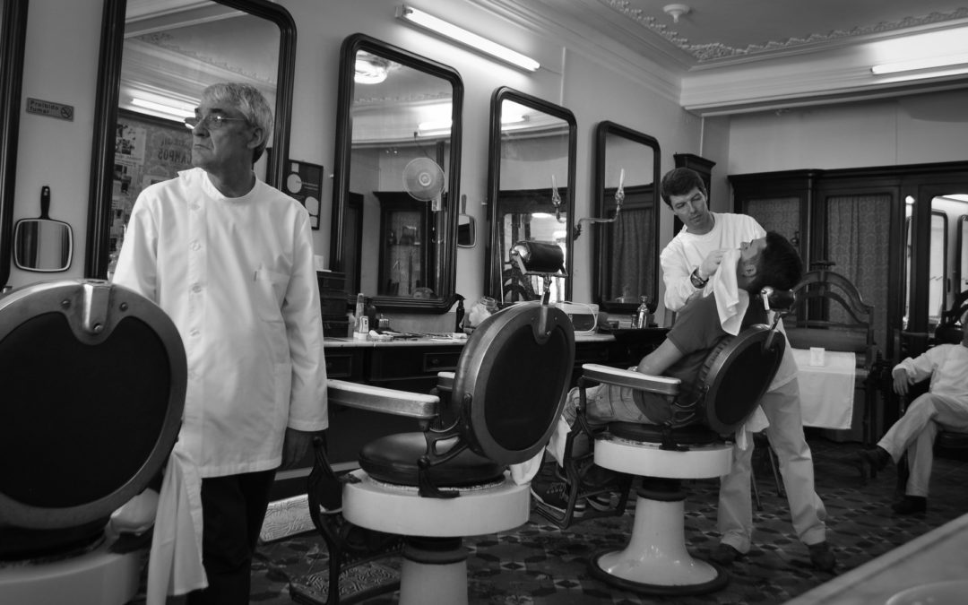 A Transcendent Experience At A Barbershop