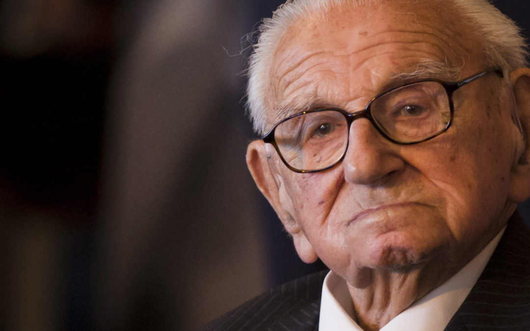A Standing Ovation Like No Other For A Hero – Nicholas Winton